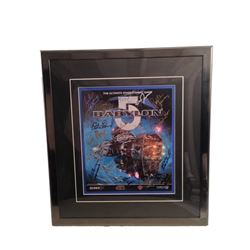 Babylon 5 Cast Signed Poster Framed