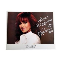 Naomi Judd Signed Photo