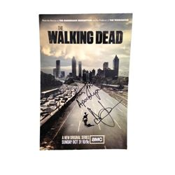 The Walking Dead Andrew Lincoln Signed Poster