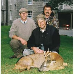Scotland Roe Deer Hunt with International Adventures Unlimited