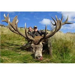 Scotland Red Stag Hunt with International Adventures Unlimited