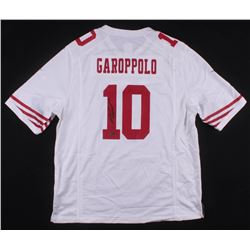 premium selection 04be8 703bf Jimmy Garoppolo Signed San Francisco 49ers Nike Jersey ...