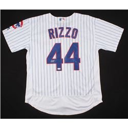 low priced 646a2 bff03 Anthony Rizzo Signed Chicago Cubs Jersey (JSA COA)