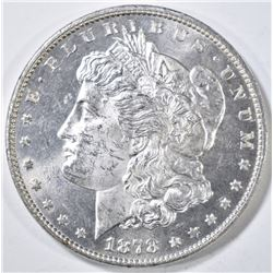 1878 7TF REV 78 MORGAN DOLLAR CH/GEM BU