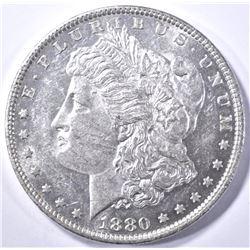 1880-O MORGAN DOLLAR, CH BU PL