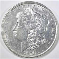 1878 8TF MORGAN DOLLAR   AU/BU