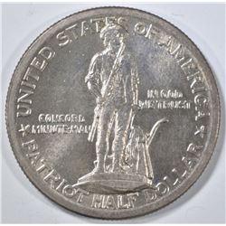 1925 LEXINGTON COMMEM HALF DOLLAR  CH BU
