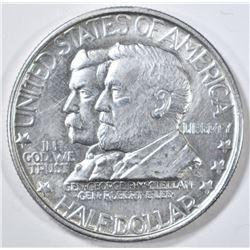 1937 GETTYSBURG COMMEM HALF DOLLAR  CH BU