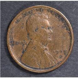 1909-S VDB LINCOLN CENT  FINE