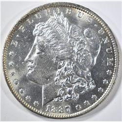 1887-O MORGAN DOLLAR  CH/GEM BU PL
