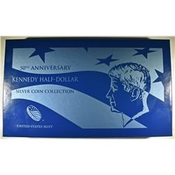 2014 KENNEDY HALF DOLLAR 4-COIN SILVER COLLECTION