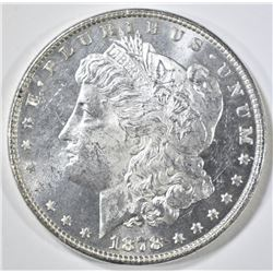 1878 7TF REV OF 78  MORGAN DOLLAR  GEM BU PL