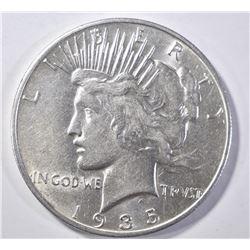 1935-S PEACE DOLLAR AU/BU