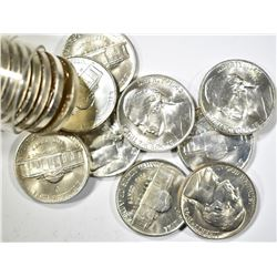 BU ROLL OF 1942-P SILVER JEFFERSON NICKELS