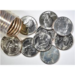 1986-D WASHINGTON QUARTERS ROLL