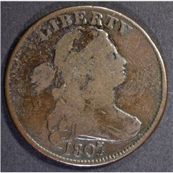 1807 LARGE CENT, SMALL FRACTION, FINE