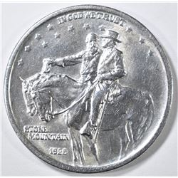 1925 STONE MOUNTAIN COMMEM HALF GEM BU