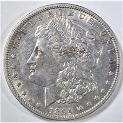 1894-O MORGAN DOLLAR AU