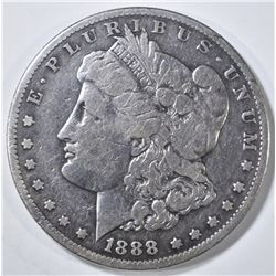 1888-S MORGAN DOLLAR VG