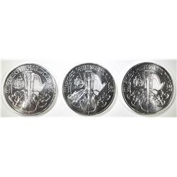 3-2019 AUSTRIAN 1oz PHILHARMONIC COINS