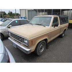 1984 Ford Ranger