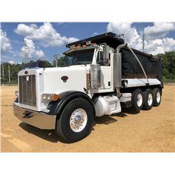2006 PETERBILT 378 DUMP TRUCK, VIN/SN:1NPFLBTX46N637337 - TRI AXLE, 435 HP CAT C15 ENGINE, 8LL TRANS