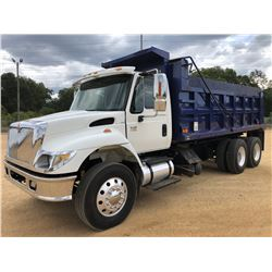 2003 INTERNATIONAL 7400 DUMP TRUCK, VIN/SN:1HTWGADR13J052596 - T/A, IHC DT530 ENGINE, 10 SPEED TRANS