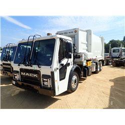 2019 MACK LR613 GARBAGE TRUCK, VIN/SN:1M2LR2GC9KM001427 - T/A, 355 HP MACK MP7, ALLISON 4500 RDS A/T
