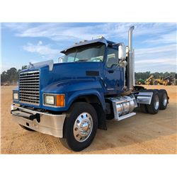 2015 MACK CHU613 TRUCK TRACTOR, VIN/SN:1M1AN07Y1FM020616 - T/A, 505 HP MACK MP8 ENGINE, 10 SPEED TRA