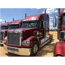 2016 FREIGHTLINER CORONADO TRUCK TRACTOR, VIN/SN:3ALXFB006GDHK1635 - GLIDER KIT, T/A, S60 DETROIT DI