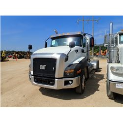 2013 CAT CT660L TRUCK TRACTOR, VIN/SN:1HSJKTLT5DJ308214 - T/A, CAT A550 ENGINE, 18 SPEED TRANS, 46K