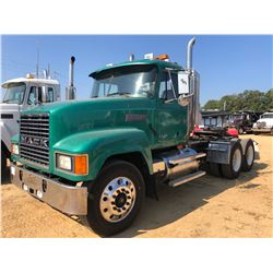 1999 MACK CH613 TRUCK TRACTOR, VIN/SN:1M2AA18YXXW110008 - T/A, 427HP E7 MACK ENGINE, 10 SPEED TRANS,