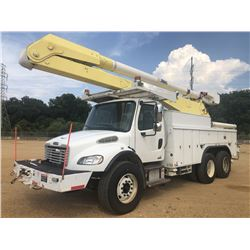 2007 FREIGHTLINER M2 BUCKET TRUCK, VIN/SN:1FVHCYDC67HY12674 - T/A, CAT C7 ENGINE, 8LL TRANS, 54,600L