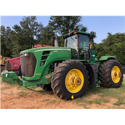 2008 JOHN DEERE 9630 TRACTOR, VIN/SN:LU003805 - MFWD,SCRAPER SPECIAL, 4 REMOTES, CAB, A/C, 710R-42 T