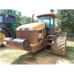 CAT MT-865 TRACTOR, VIN/SN:BDS50942 - 5 REMOTES, RUBBER TRACKS, CAB, A/C, METER READING 16,129 HOURS