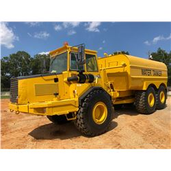 VOLVO A25C WATER WAGON, VIN/SN:V11780 - CAB, A/C, REAR & INTERMEDIATE DISCHARGE, 23.5R25 TIRES