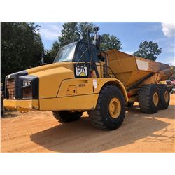 2015 CAT 740B ARTICULATED DUMP, VIN/SN:T4R03116 - TAILGATE, CAB, A/C, 29.5R25 TIRES, METER READING 1