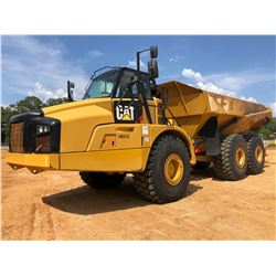 2015 CAT 740B ARTICULATED DUMP, VIN/SN:T4R03115 - TAILGATE, CAB, AC, 29.5R25 TIRES, METER READING 11