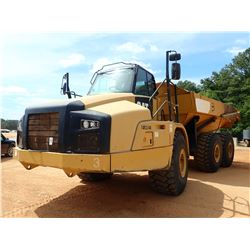 2015 CAT 740B ARTICULATED DUMP, VIN/SN:T4R03248 - TAILGATE, CAB, A/C, 29.5R25 TIRES, METER READING 1