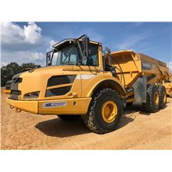 2013 VOLVO A25F ARTICULATED DUMP, VIN/SN:80118 - TAILGATE, CAB, AC, 23.5R25 TIRES, METER READING 8,6