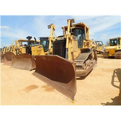 CAT D7R XR CRAWLER TRACTOR, VIN/SN:AGN00609 - ANGLE BLADE, MULIT-SHANK RIPPER, DIFF STEER, CAB, A/C,