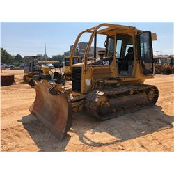 CAT D5G XL CRAWLER TRACTOR, VIN/SN:FDH00733 - 6 WAY BLADE, CAB, A/C, SWEEPS, SCREENS, METER READING