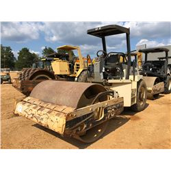 """2001 INGERSOLL-RAND SD70D PRO PAC ROLLER, VIN/SN:169348 - VIBRATORY, 66"""" SMOOTH DRUM, CANOPY, METER"""