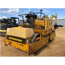 """DYNAPAC CC21 II ROLLER, VIN/SN:476075 - TANDEM, 57"""" DRUMS, VIBRATORY, METER READING 2,375 HOURS"""