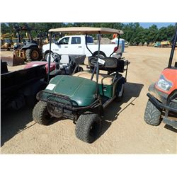 EZ-GO GOLF CART, VIN/SN:2373528 - ELECTRIC, CHARGER, 2 EXTRA TIRS, CANOPY, REAR SEAT