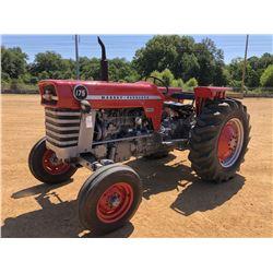 MASSEY FERGUSON 175 FARM TRACTOR, - METER READING 3,488 HOURS