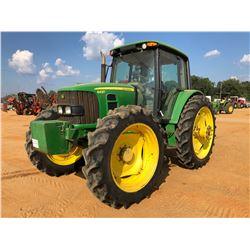 2012 JOHN DEERE 6430 FARM TRACTOR, VIN/SN:700728 - MFWD, 3 REMOTES, CAB, A/C, 13.6-46 TIRES, METER R