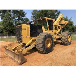 2016 TIGERCAT 620E SKIDDER, VIN/SN:6745 - GRAPPLE, DUAL ARCH, WINCH, CAB, A/C, 30.5L-32 TIRES, METER