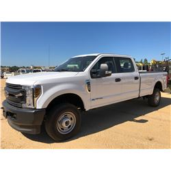 2018 FORD F350 PICKUP TRUCK, VIN/SN:1FT8W3BT7JEC33422 - 4X4, CREW CAB, POWERSTROKE ENGINE, A/T, ODOM