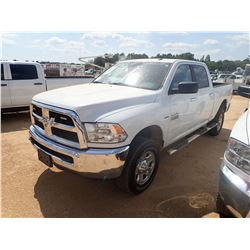 2017 DODGE 2500HD PICK UP, VIN/SN:3C6TR5DT4HG613208 - 4X4, CREW CAB, V8 HEMI GAS ENGINE, A/T, ODOMET